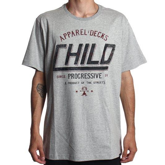 Camiseta Child Painted Mescla