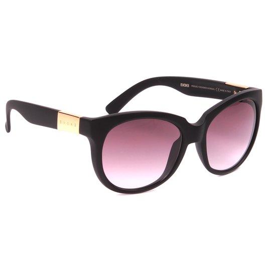 Óculos Evoke Mystique Preto/Dourado