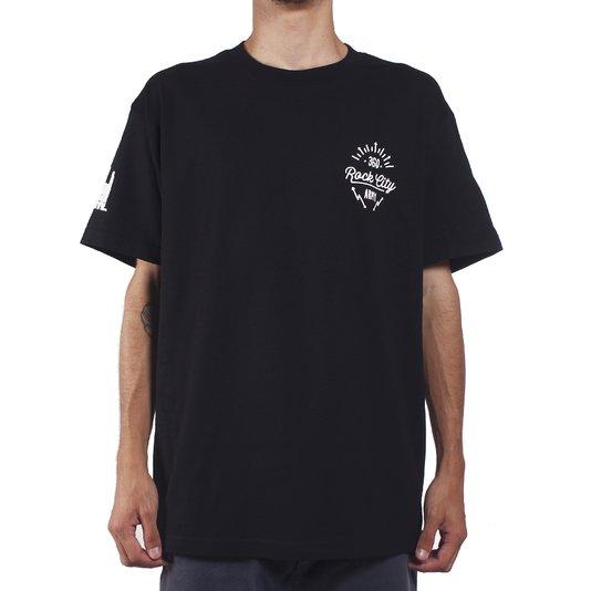 Camiseta Rock City Army 360 Preto