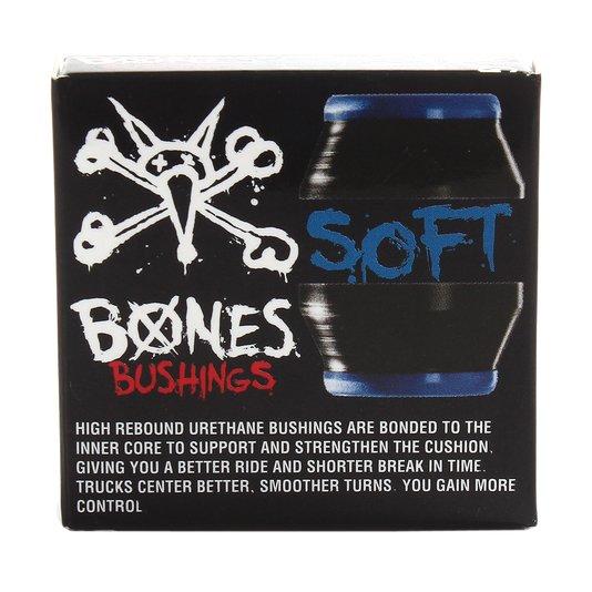 Amortecedor Bones Soft Preto/Azul