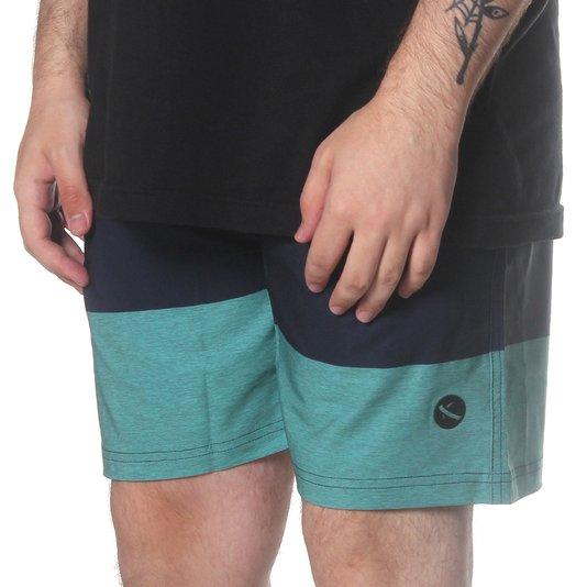 Bermuda Lost Lazy Shorts Jobless Azul Marinho