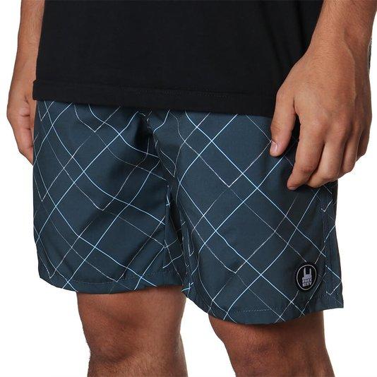 Bermuda Rock City Shorts Lines Summer 21 Azul