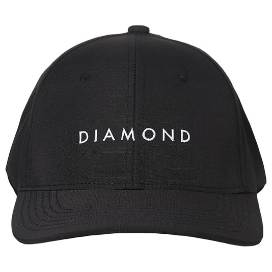 Boné Diamond Leeway Sport Hat Preto/Branco