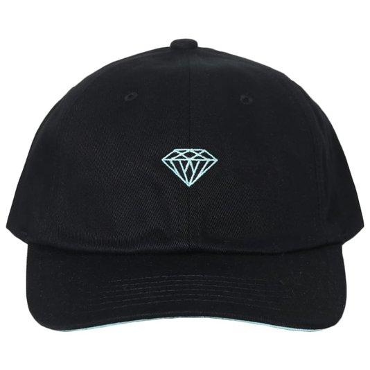 Boné Diamond Wll X Dmnd Preto/Azul Piscina