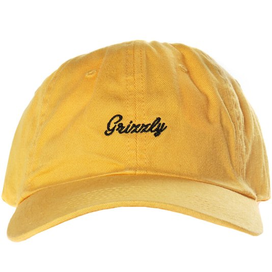 Boné Grizzly Late To The Game Amarelo