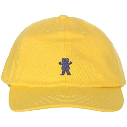 Boné Grizzly Og Bear Dad Hat Amarelo