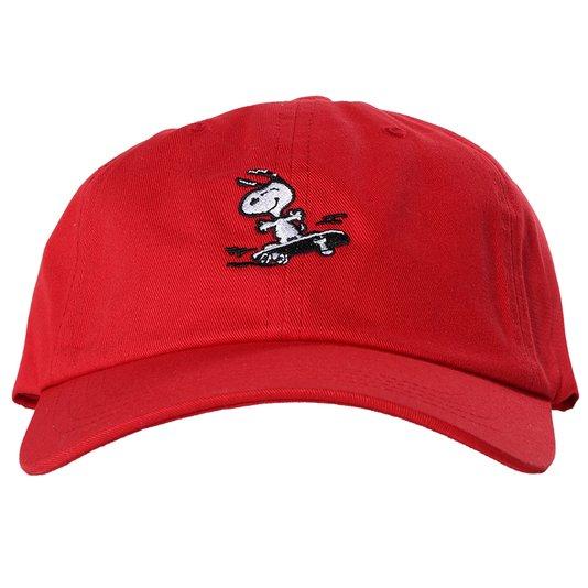 Boné Huf Snoopy Skate Vermelho