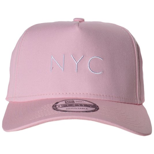 Bone New Era Nyc Core Candys Rosa Claro