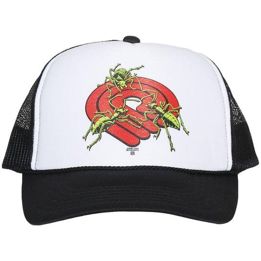 Boné Powell Peralta Mesh Ants Preto/Branco