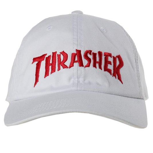 Boné Thrasher Magazine Neckface Invert Branco