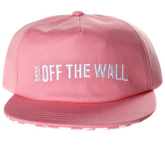 Boné Vans Central Hat Rosa