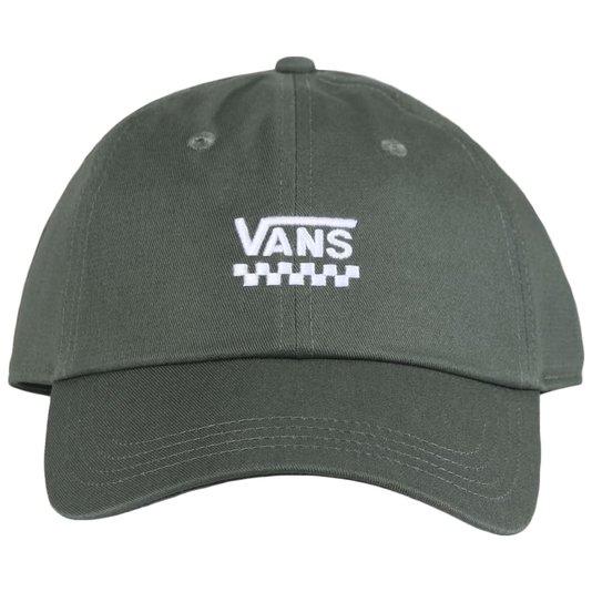 Boné Vans Court Side Hat Thyme Verde Militar