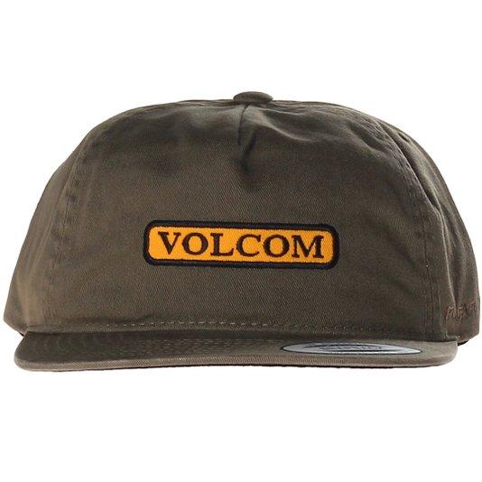 Boné Volcom Crownd Control Verde Militar
