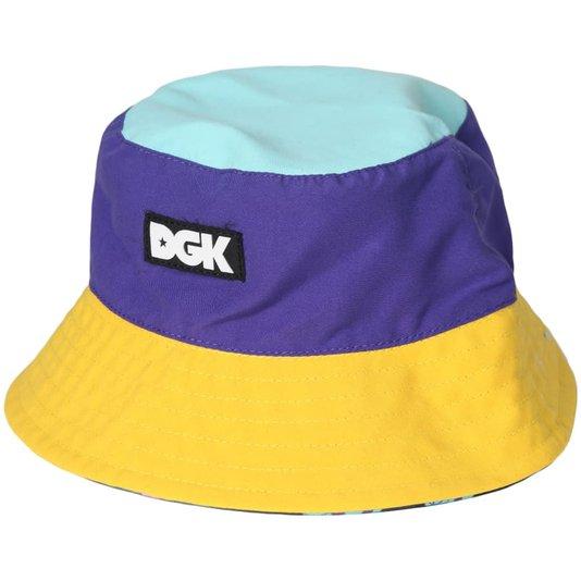 Bucket Dgk Block Dupla Face Hat Colorido
