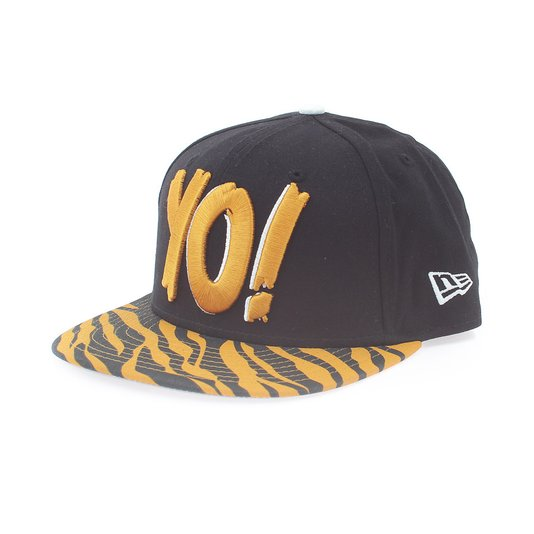 Boné New Era 950 Mtv Yo Animal  Preto/Dourado