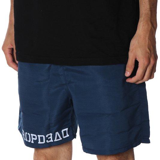 Bermuda Shorts Dropdead Active Strippin Azul Marinho