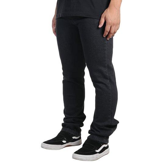 Calça Jeans Element E02 Wide Fit Preto