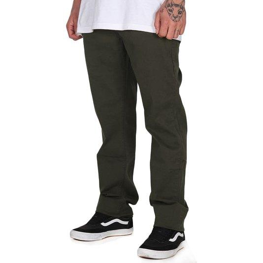 Calça Jeans Rvca Daggers Verde Militar