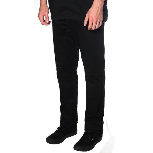 Calça Rock City Tailor Pants Flex Preto