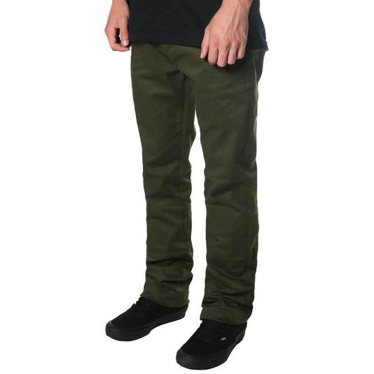 Calça Rock City Tailor Pants Flex Verde Militar