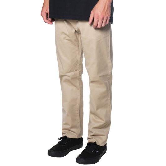 Calça Rock City Tailor Pants Khaki