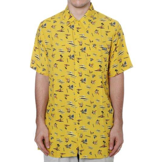 Camisa Dropdead Matchbox Amarelo