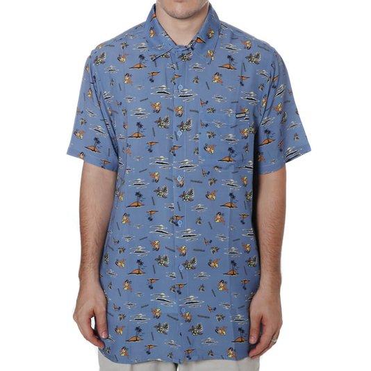 Camisa Dropdead Matchbox Azul