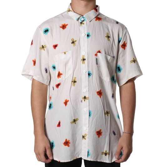 Camisa Hocks Inseto Bege
