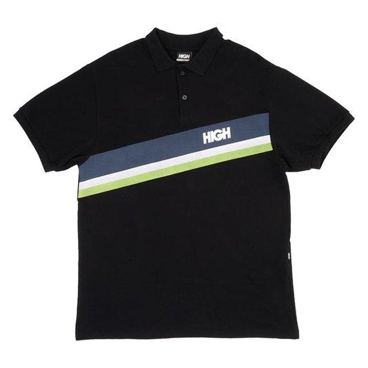 Camisa Polo High Company Gambler Preto