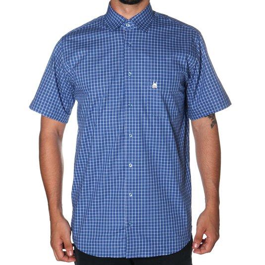 Camisa Rock City Xadrez 2020 Azul