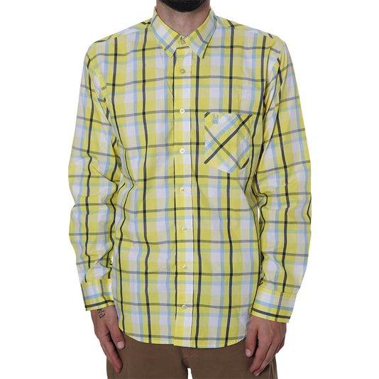Camisa Rock City Xadrez Amarelo