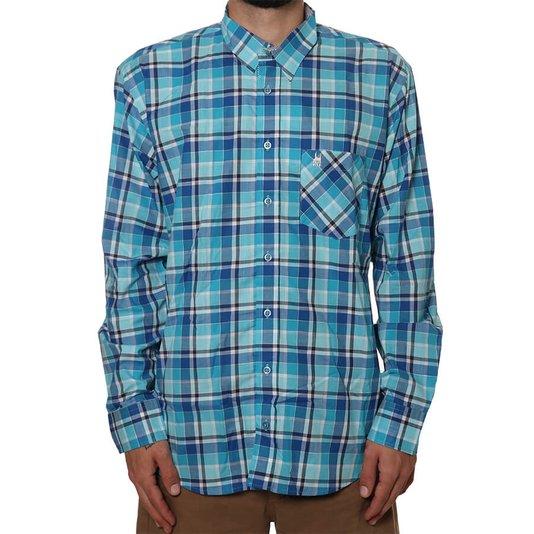 Camisa Rock City Xadrez Piscina