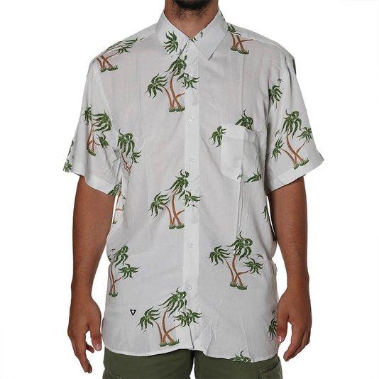 Camisa Vissla Ala Moama Off White