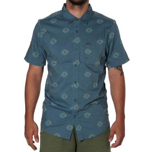 Camisa Volcom Inner Valley  Azul