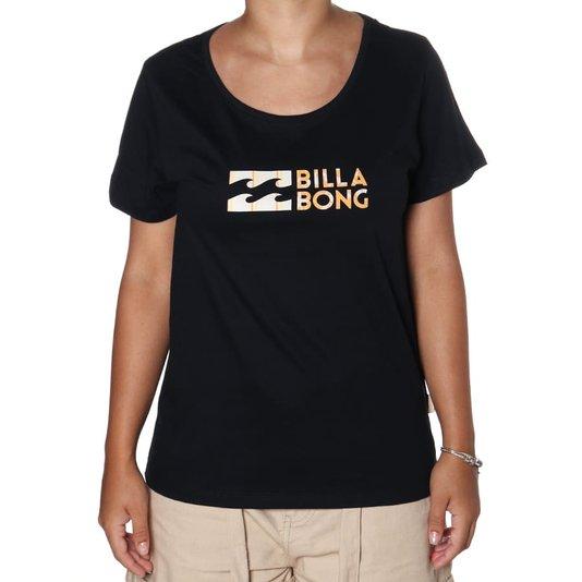 Camiseta Billabong Made Of Sun Feminina Preto