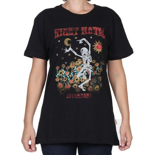 Camiseta Billabong Night Moves Feminina Preto