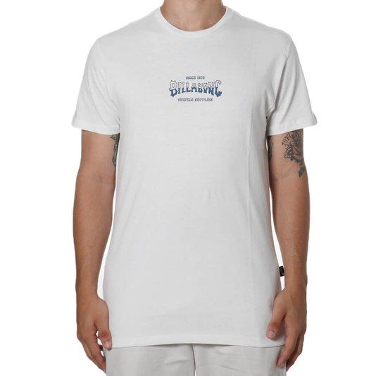 Camiseta Billabong Supply Wave Off Off White