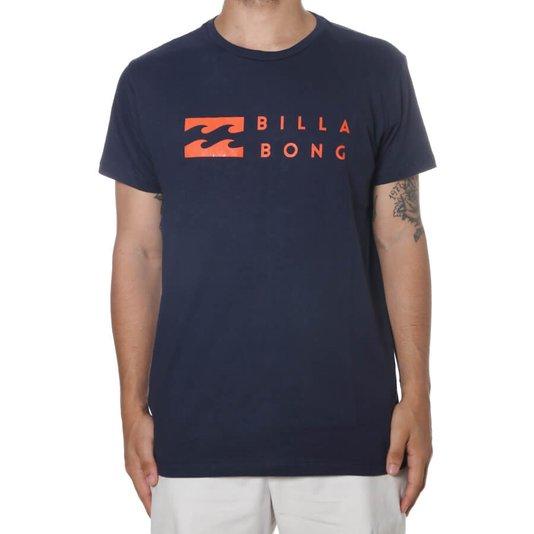 Camiseta Billabong United Azul Marinho