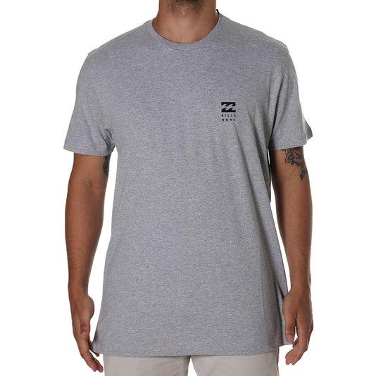 Camiseta Billabong Unitedy Cinza Mescla