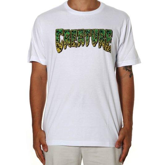 Camiseta Creature Catacombo Logo Branco