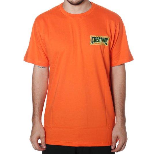 Camiseta Creature Ligaments Laranja