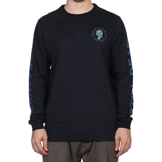 Camiseta Creature Return Of The Fiend M/L Preto