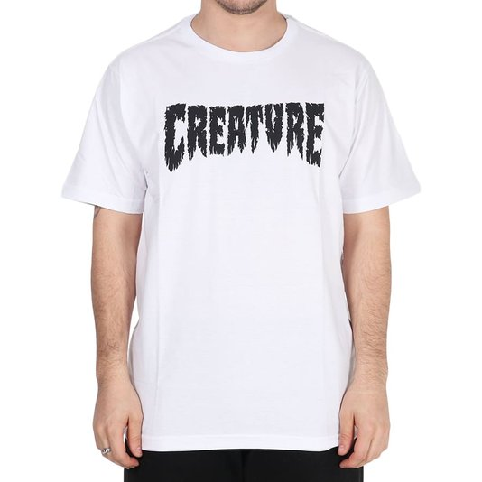 Camiseta Creature Shredded Branco