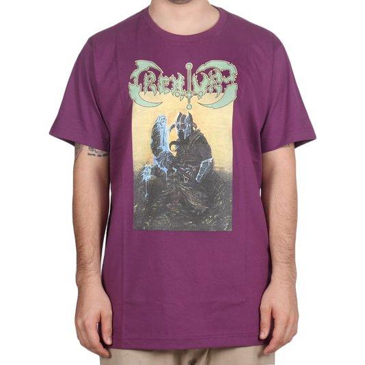 Camiseta Creature Sorcery Roxo