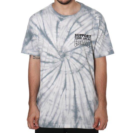 Camiseta Creature Support Your Local Creature Branco