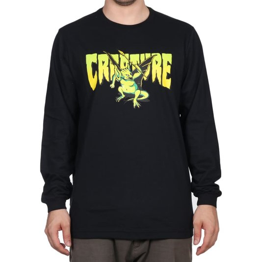 Camiseta Creature Swamper M/L Preto