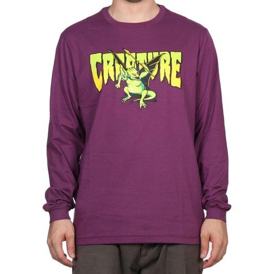 Camiseta Creature Swamper M/L Roxo
