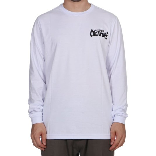 Camiseta Creature Wicked Tales M/L Branco
