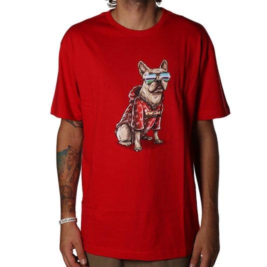 Camiseta DGK Frenchie Vermelho