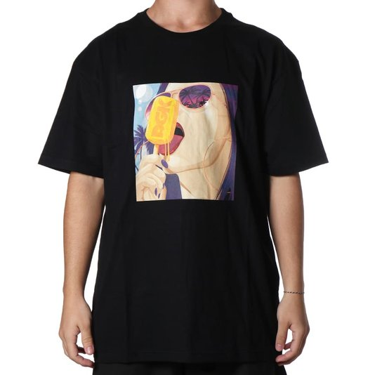 Camiseta Dgk Ice Cold Preto